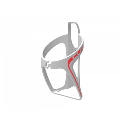 CUBE HPP bottle cage white/red