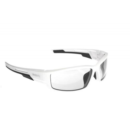 Onride Point матовий білий/чорний з лінзами Clear (Cat.0)