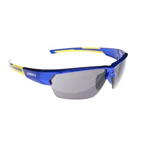 Onride Spok блакитний/жовтий з лінзами Smoke (Cat.3)