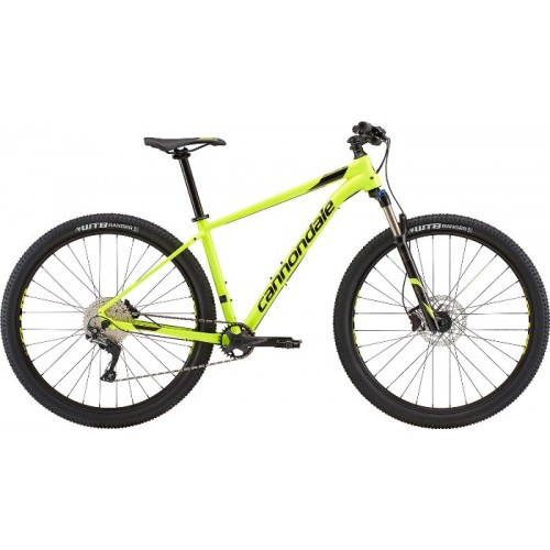 "Велосипед 27.5"" Cannondale Trail 4 VLT зелений 2018"